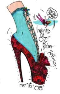 Redesigning Famous Shoes - The Wizard of Oz Ruby Slipper Collection