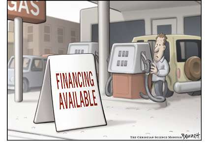 Gas Prices Inspiring Wild Stunts