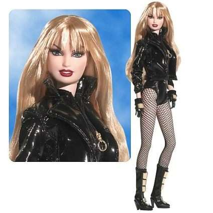 Badass Superhero Barbies - Black Canary Barbie