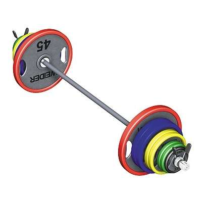Olympic Coloured Dumbbells