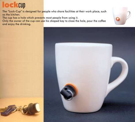 Locking Coffee Mug