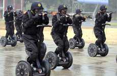 100,000 Men on Segways - Security Guards at China Olympics