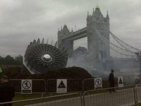 UFO Crash Publicity Stunts