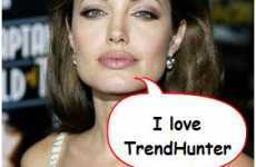 Bubble Speech Any Photo - What Would Angelina Jolie Say About You?