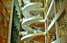 Spiral DNA Staircases - Garvan Medical Institute Helix Stairs