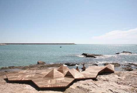 Wooden Artificial Islands