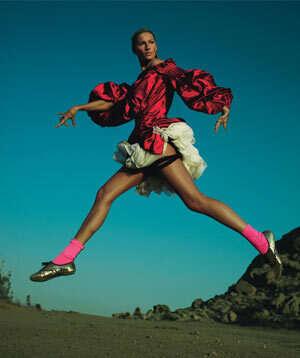 Prancing Ostrich Fashion