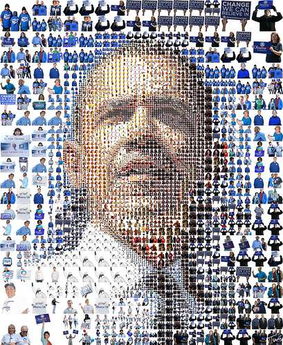 Obama Mosaics - Deep Zoom Obama & More