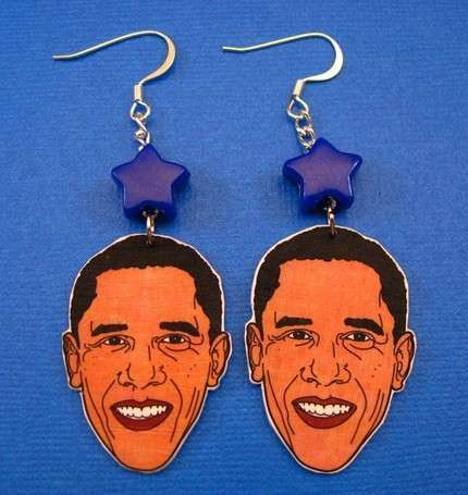 Obama Crafts - Obama Earrings, Eco-Skirts & More