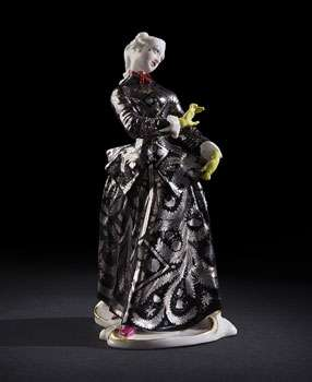 Couture Porcelain - Commedia Dell'Arte