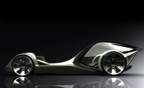 Supercar Designs by Art Students