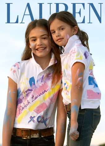 Paint Your Own Polo Kits - Ralph Lauren DIY Shirts