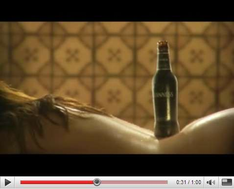 Scandalous Beer Commercials