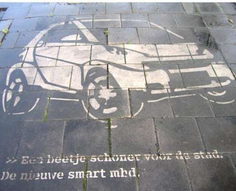 6 Ads That Clean Sidewalks + GreenGraffiti