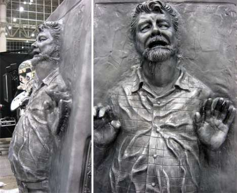 George Lucas in Carbon