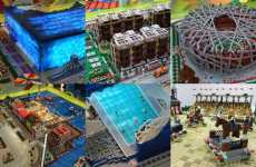 Miniature China Monuments - Beijing Lego Sports City