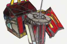 Urban Art Exhibits - McDonald's Stained Glass & More