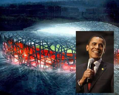 Obama in China Olympic Broadcasts