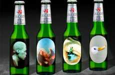 Beer Bottle Labels As Art