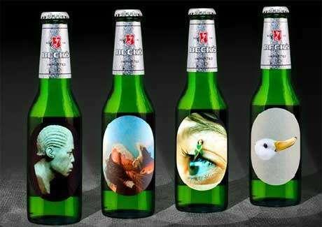 Beer Bottle Labels As Art