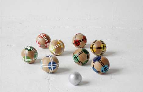 Geometric Bocce Ball Sets