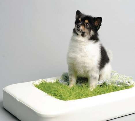 Faux Grass Pet Beds