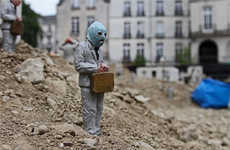 Miniaturized Dystopian Art - Isaac Cordal has Created a Diorama Citing the Collapse of Capitalism
