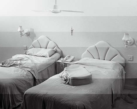 Staged Gray-Scale Photography