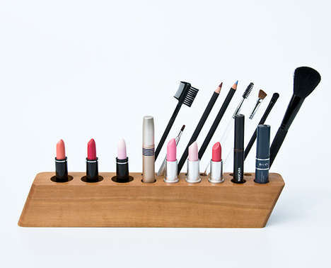 Upright Cosmetic Organizers