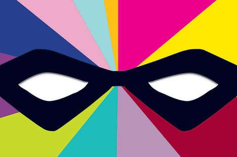 Superhero Infographic Novels