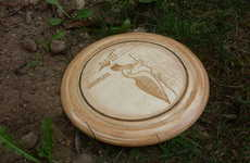 DIY Tossable Toys - This DIY Wooden Frisbee Adds a Little Charm to This Outdoor Activity
