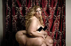 Nude Obese Female Portraits - The Full Beauty Project by Yossi Loloi Spits in the Face of Media