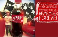 People-Miniaturizing Campaigns - The Coca-Cola 'Mini-Me' Campaign Shrinks People Using 3D Printing