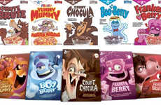 Scary Sugary Cereal Re-Releases - General Mills Will Offer Limited Edition Favorites for Halloween