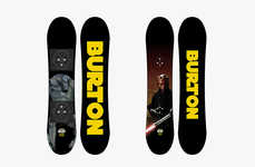 Sci-Fi Branded Snowboards - The Star Wars x Burton 2014 Chopper Snowboards Are Out of this World