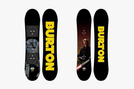 Sci-Fi Branded Snowboards