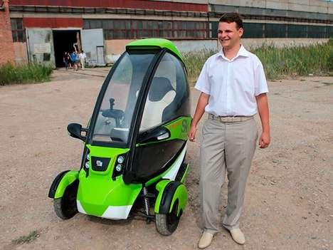 Transforming Russian Pod Cars