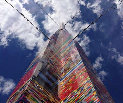 Towering Building Block Structures