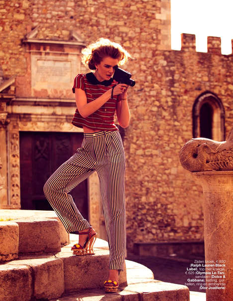 Elegant Tourist Editorials