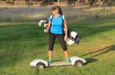 Surfer-Friendly Golf Carts - The Golfboard Lets You Glide Across the Green