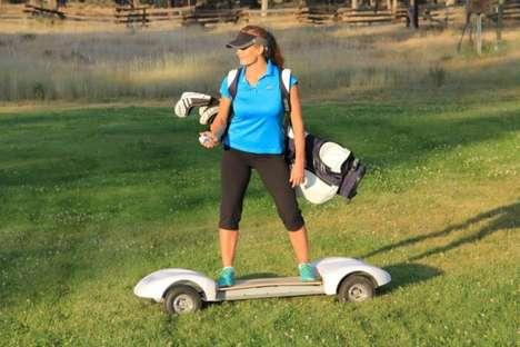 Surfer-Friendly Golf Carts