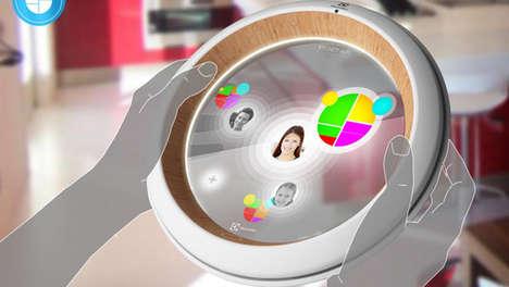 Touchscreen Fridge Monitors
