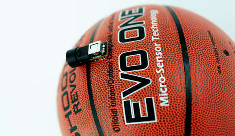 Shot-Correcting Basketball Sensors - Evo One Acts Like an Electronic Coach with Whistle and All