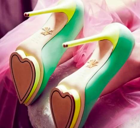 Heart Platform Heels