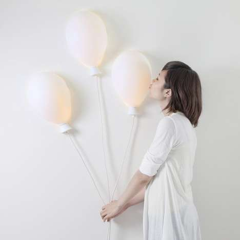 Balloon-Inspired Wall Lamps