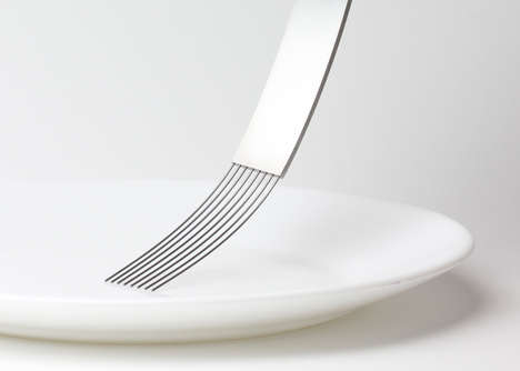 Savour-Enhancing Utensils - Tableware by James Stoklund Challenges Conventional Dining Experience