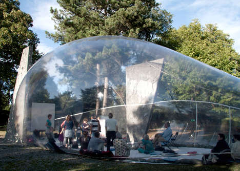 Bubble-Resembling Pavilions - Aeropolis by Plastique Fantastique is Futuristic