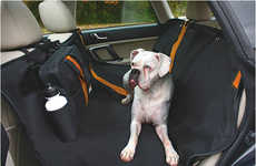 Pet Hair-Repelling Tarps - The Kurgo Wander Hammock Protects the Backseat from Almost Anything