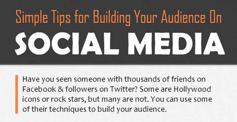 Social Following Infographics - Grow Your Social Media Audience with These Simple Steps