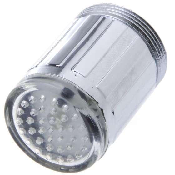 Thermometric LED Faucets : LED Faucet Light